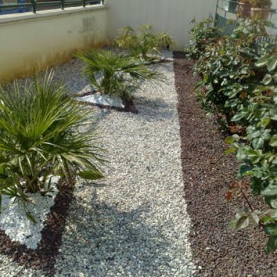 1.Progettazione giardino zen Bari