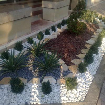 Realizzazione giardino Casamassima