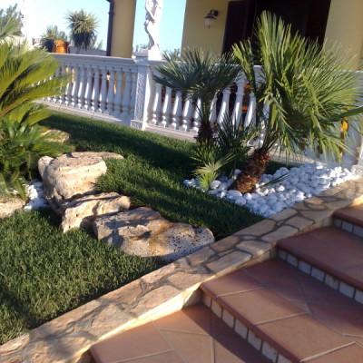 Realizzazione giardino Puglia